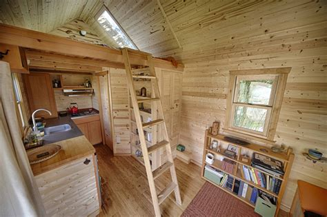 tiny house inside the sweet pea tiny house plans padtinyhouses com