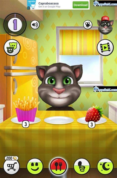 Скачать игры на андроид my cat tom