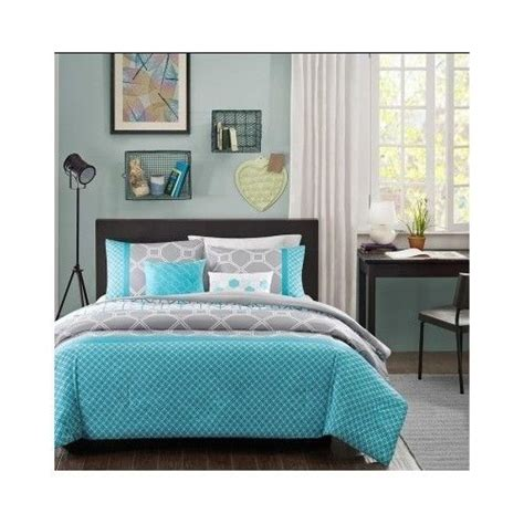teal teen bedding teal blue full queen comforter aqua gray bed set blanket teen bedding bedroom ebay
