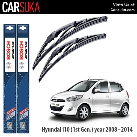 wiper nissan march bosch advantage 2014 bosch advantage wiper blade set for hyundai i10 1st