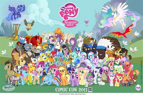 my pony l personaggi di my pony l amicizia 232 magica wikiwand