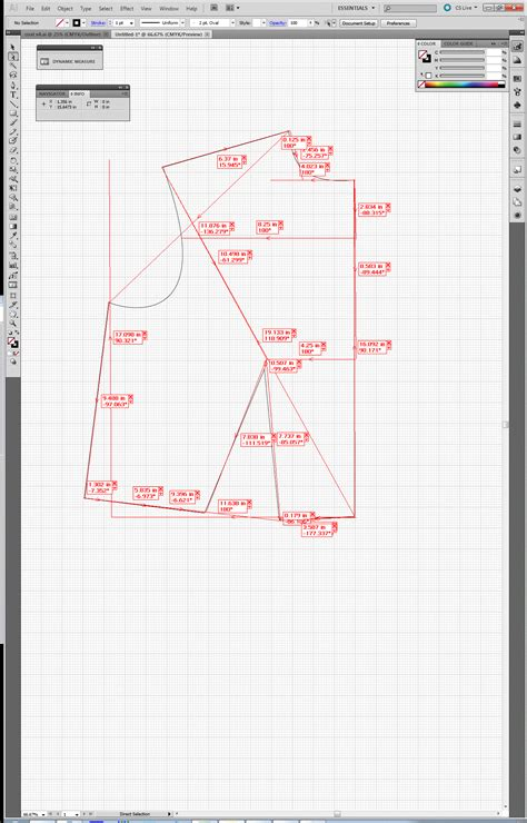 grading patterns using adobe illustrator pattern drafting using adobe illustrator step 4 curves