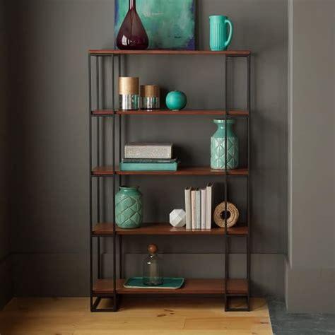 west elm bookshelves grid frame bookcase west elm