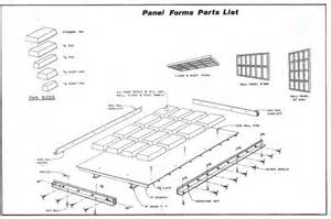 Build A Picnic Table Plans by Diy Precast Concrete Wall Panel Form Plans