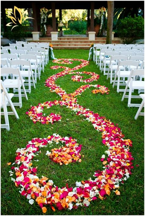 Wedding Aisle Flower Petals louisville wedding the local louisville ky wedding