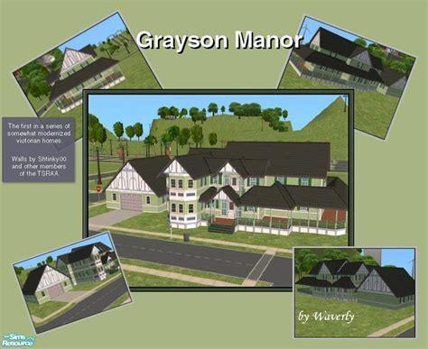 Grayson Manor Floor Plan by Waverly S Grayson Manor