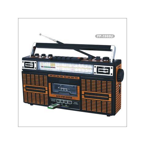 radio cassette radio cassette vintage con conexi 243 n usb y tarjetas sd