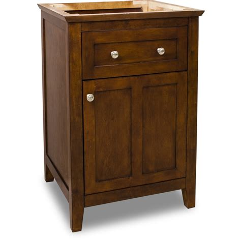 Shaker Bathroom Vanity Jeffrey Chatham Shaker Vanity Chocolate 24w