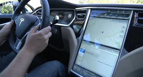 tesla model s interior inside evs