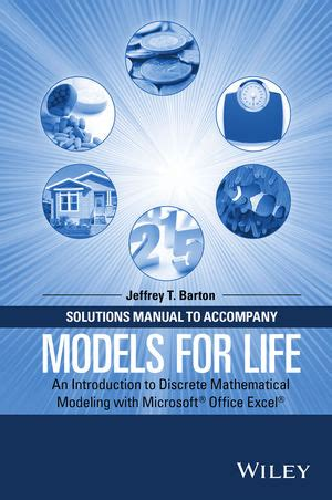 Wiley Solutions Manual To Accompany Models For Life An