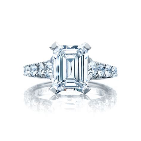 tacori engagement rings royalt solitaire emerald cut