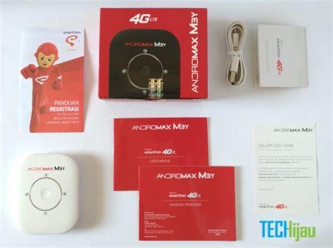Paket Modem Wifi Andromax review pengalaman menggunakan smartfren andromax m3y techijau