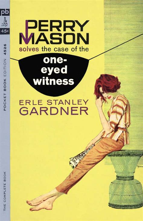 Erle Stanley Gardner The Of The One Eyed Witness nineteen more fantastic robert mcginnis pulp fiction covers