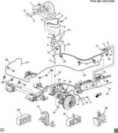 Brake Line Diagram 2004 Silverado Brake Lines Images Frompo