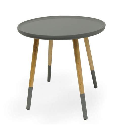 design beistelltisch design beistelltisch tisch seeland couchtisch grau rund 48