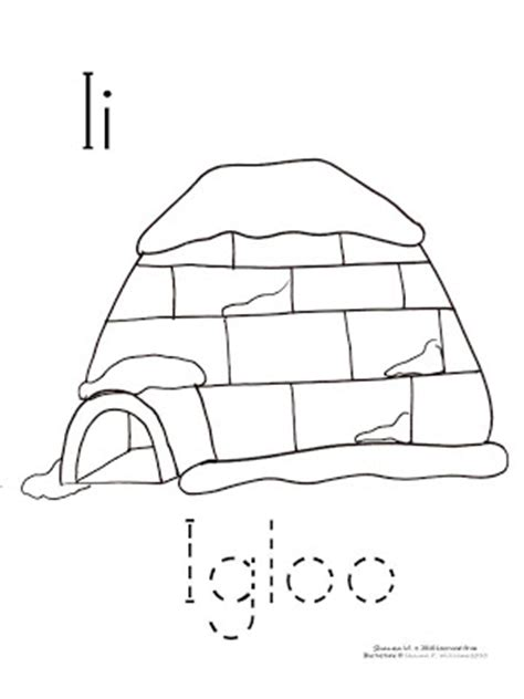 igloo coloring page preschool learn and grow designs website arctic activities