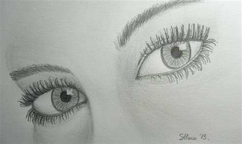 imagenes para dibujar a lapiz ojos dibujos de nombres a l 225 piz imagui