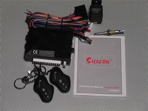 Alarm Silicon alarm samochodowy 171 tymex