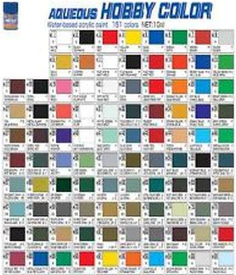 mr hobby colour gunze sangyo acrylic paint 10ml pots h51 to h75 ebay