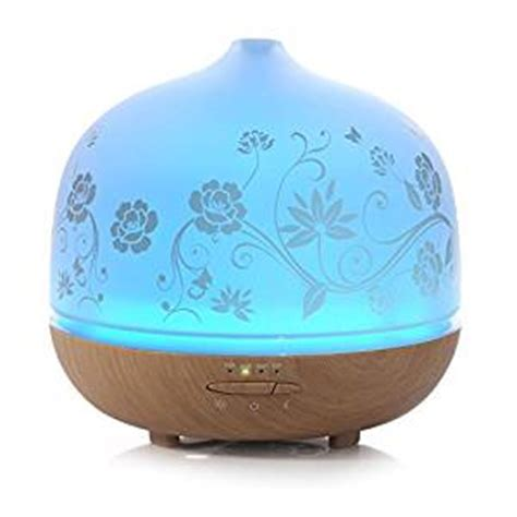 essential oil diffuser amazon amazon com 500ml glass aromatherapy essential oil