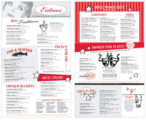 Menu Design Tool | cheryl passer design restaurant menu design print