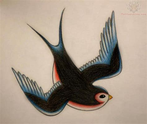 barn swallow tattoo designs school design one on each side of