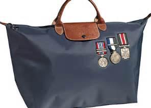 Longch The Pliage Stomp Bag by Longch Le Pliage Sergent Colonel Collection