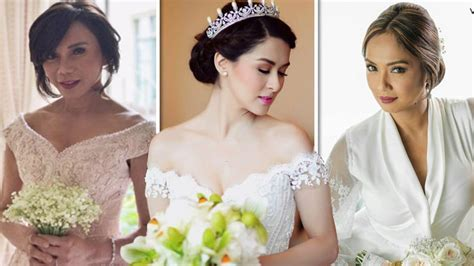 Who wore the Michael Cinco bridal gown best?