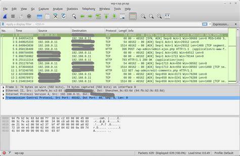 wireshark tutorial wpa how to sniff wordpress login credentials with wireshark