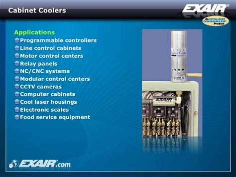 compressed air cabinet coolers exair cabinet cooler cabinets matttroy