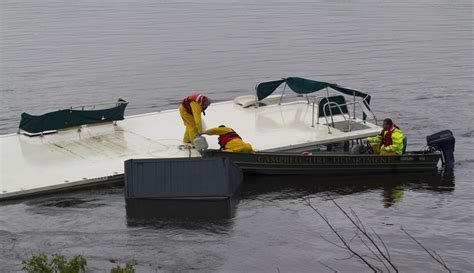 houseboat accident sunken houseboat serves as a reminder for boater safety