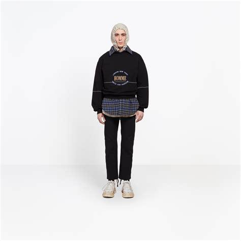 Balenciaga Sweater Jacket s oversize sweater homme balenciaga