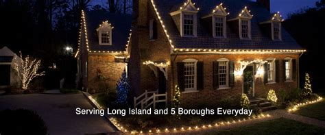 long island christmas light installation