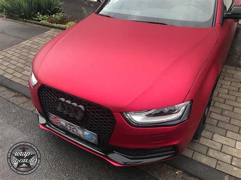 Folie Matt Chrom Rot by Audi Chrom Folie 94 Kopie