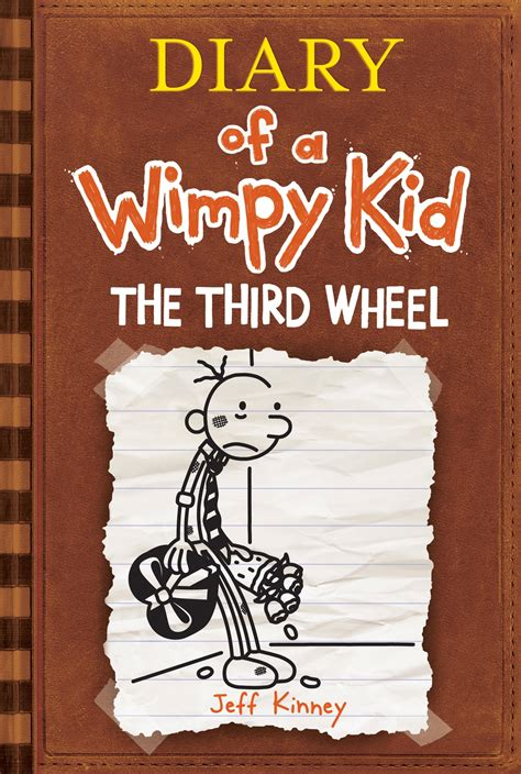 diary of a wimpy kid the third wheel book report the third wheel diary of a wimpy kid penguin books