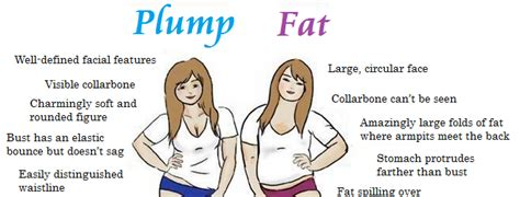celebrity status definition the difference between a fat woman and a plump one
