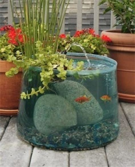 Planter Pond by Top 10 Garden Aquarium And Pond Ideas To Decorate Your
