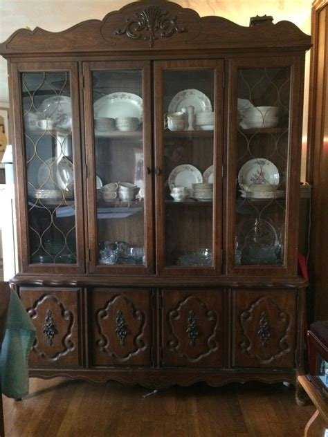 How To Find My Hutch Number Bassett Furniture China Cabinet My Antique Furniture