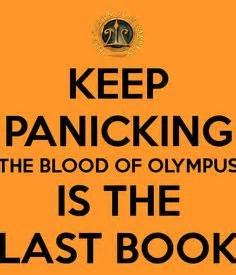 blood the rick cahill series books the blood of olympus is the last book of the series why