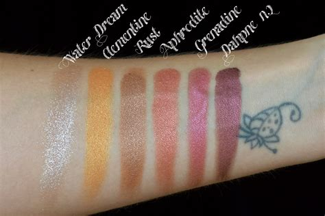 Eyeshadow Review makeup stash nabla cosmetics eyeshadow collection review