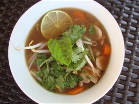 vegetables used in pho vegetarian pho soup cat can cook
