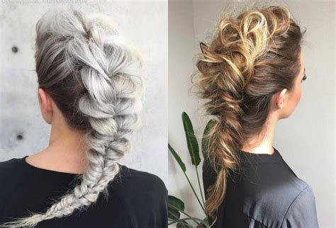 expressive braided mohawk hairstyles hairdrome