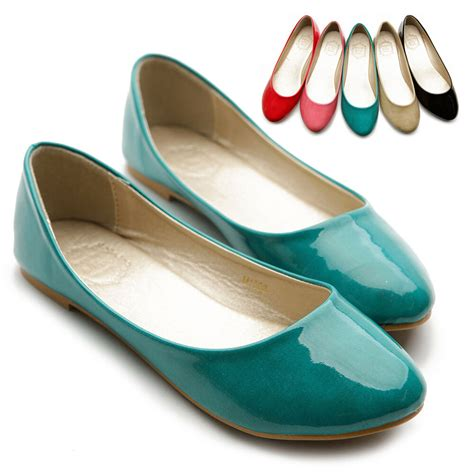 colored flats new womens shoes ballet flats loafers basic light low