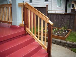graspable handrail cedar rail graspable rail deck masters llc