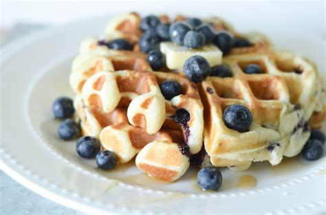 gluten free blueberry waffles mommy hates cooking