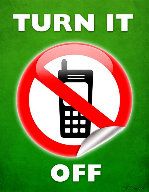 please turn off your mobile images stock photos vectors