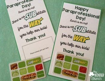 Subway Corporate Gift Cards - 25 best ideas about subway gift card on pinterest teacher appreciation luncheon