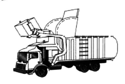 garbage trucks for kids 84 front loader coloring page fire truck pages