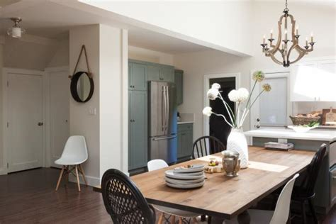 italian inspired dining table extends kitchen island hgtv