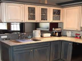 Painting Kitchen Cabinets Dark Color » Home Design 2017